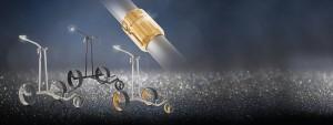 Zum Firmenjubiläum haben sich die Designer bei JuCad etwas ganz besonderes für ihre Phantom Elektro-Trolleys ausgedacht. (Foto: JuCad)