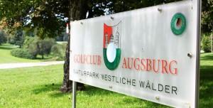 Heimat von Bernhard Langer, der GC Augsburg.