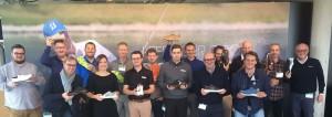 Hier noch im Trockenen und begeistert, waren alle Tester des neuen Ecco Cool auch nach der 18-Loch Runde noch vollends zufrieden mit dem Schuh. (Foto: GMS Golf)