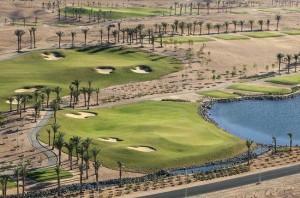 In Ägypten wird beim Golf Weltrekord der Madinat Makadi Golf Course gespielt.