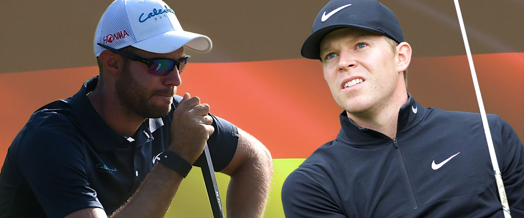 Bernd Ritthammer (l.) und Alexander Knappe blicken auf ihre erfolgreichste Saison zurück.