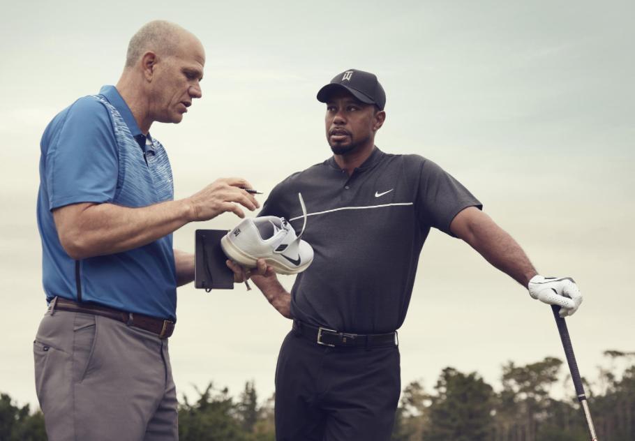 size 40 89161 6738c Tiger Woods und Tobias Hatfield arbeiteten knapp 1 12 Jahre am neuen Nike  Golfschuh