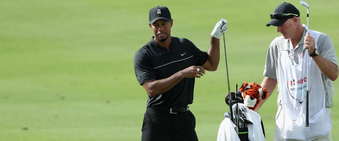 Tiger Woods probierte bei der Hero World Challenge, seinem Comeback-Turnier, neue Hölzer aus. Der Blick ins Bag. (Foto: Getty)