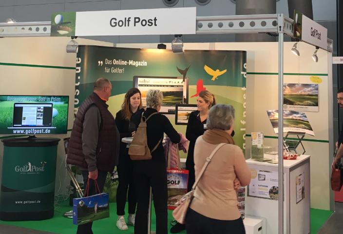 Golf Post war mit einem eigenen Stand vor Ort. Es war wie immer schön, Sie persönlich kennzulernen (Foto: Golf Post)
