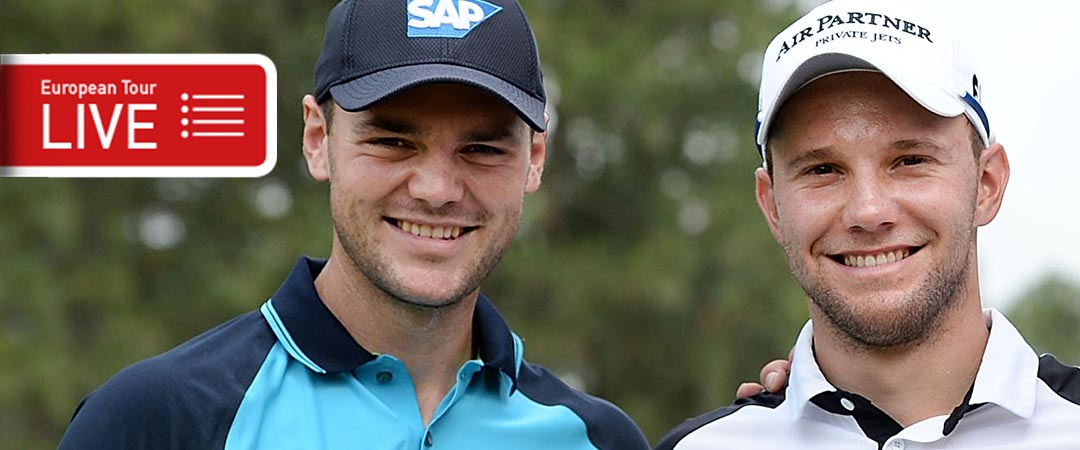 Martin Kayer und Maximilian Kieffer peilen bei der Abu Dhabi HSBC Championship Topplatzierungen an.