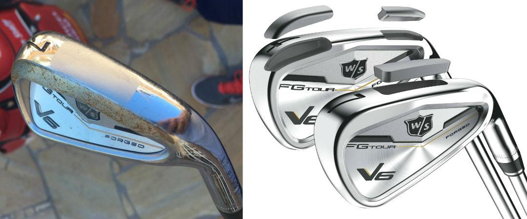 Marcel Siems Wilson Staff FG Tour V6 Eisen haben schon einiges auf dem Kasten. (Foto: Golf Post / Wilson Staff)