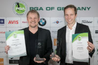 Martin Hasenbein (li), PGA Teacher of the Year 2016, und Chris Webers, PGA Jugendtrainer des Jahres. (Foto Stefan Heigl, PGA of Germany)