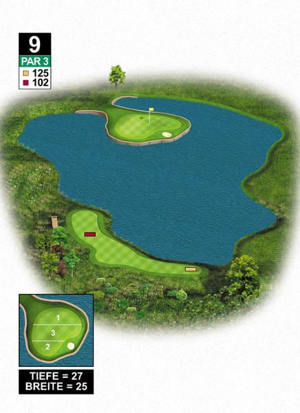 West Golf - Krönender Abschluss mit wunderschönem Signature Hole. (Foto: West Golf)