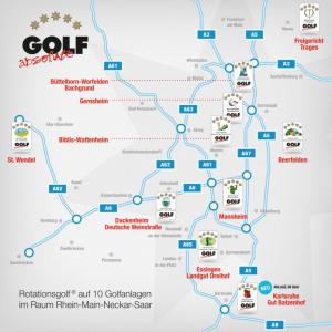 Das Eldorado für Golfer im Süden Deutschlands bietet Golf absolute. (Foto: Golf absolute)