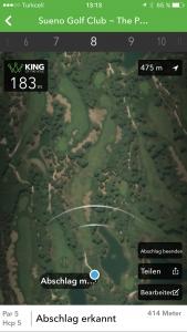 Der Drive wird bei der Arccos App mit Hilfe von Geräuschen, Vibrationen und Erschütterungen erfasst. (Foto: Golf Post)