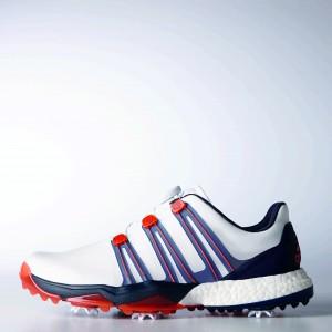 Der Adidas Powerband Boa Boost Schuh ist voll mit neuen Technologien. (Foto: Adidas)