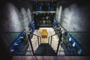 Der Ecco-Store W-21 mit angeschlossenem Innovation Lab in Amsterdam. (Foto: W-21)