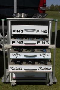 Zahlreiche Marken können beim mobilen Fitting getestet werden. (Foto: Classic Club Repair)