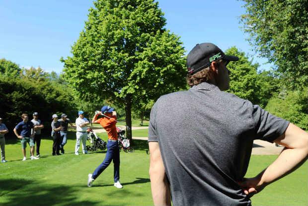 Der 18-Jährige Bram Verstappen durfte als erster Amateur die Jailbreak-Runde mit Thomas Pieters eröffnen. (Foto: Golf Post)