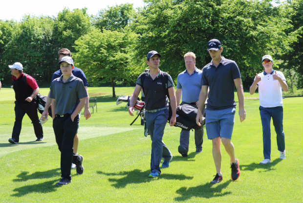 Auf den zweiten neun Löchern lieferten sich die Golf Post Leser einen spannenden Fight mit dem Ryder-Cup-Star. (Foto: Golf Post)