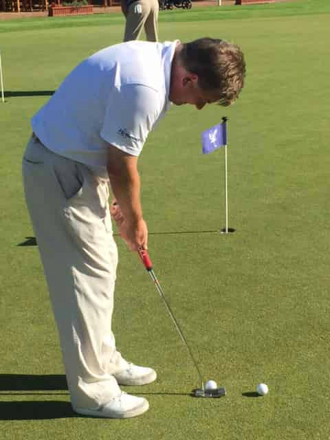 Im sonnigen Südafrika testete der Golf Post Mitarbeiter Ulrich Schulte den Evnroll Putter im Rahmen eines Turniers. (Foto: Golf Post)