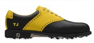 Dieser Schuh hat Thongchai Jaidee am besten gefallen. (Foto: FootJoy)