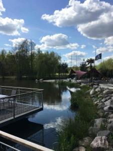 Wenn Sie den Green Eagle Nord-Kurs bewältigt haben, sollten Sie sich auf der Clubhausterasse etwas gönnen. (Foto: Golf Post)