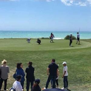 Das 15. Grün des Championship Kurses. (Foto: Golf Post)