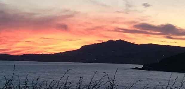 Ein malerischer Sonnenuntergang auf Sizilien. (Foto: Golf Post)