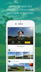 Teile Deine Erlebnisse und Golfmomente mit Deinen Freunden. (Foto: Golf Post)