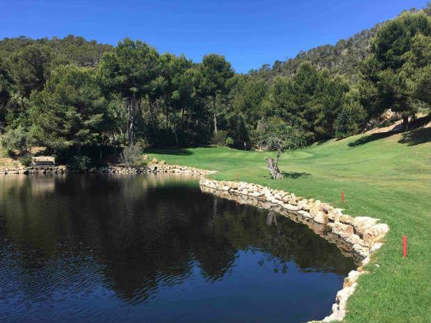 Danke neuem Greenkeeping-Team und umfassenden Platzarbeiten spielt Golf de Andratx wieder in der obersten Liga auf Mallorca mit. (Foto: Golf Post)