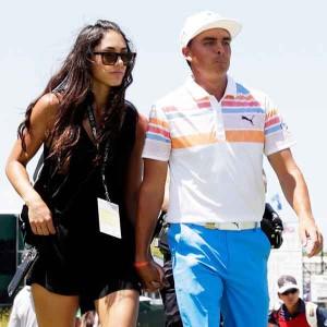 Rickie Fowler mit seiner Freundin Allison Stokke. (Foto: Getty)