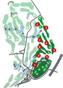 Golf spielen einfach gemacht in der Hummelbachaue