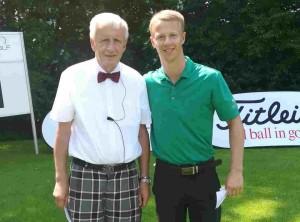 Bernd Kraft (l.) mit Birk Bergdahl. (Foto: Birk Bergdahl)