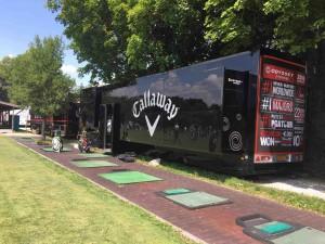 """Im Callaway Tour Truck findet man die """"Golfers Kitchen"""". (Foto: Golf Post)"""