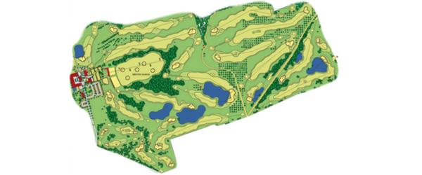 Der Feininger-Course: Par 71, 4.839m Länge Damen, 5.706m Länge Herren. (Foto: Spa & GolfResort Weimarer Land)