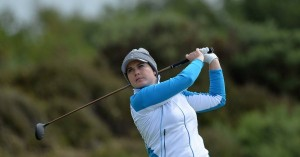 Caroline Masson zeigte auf der Ladies Scottish Open ihr bestes Ergebnis des Jahres. (Foto: Twitter@DomeniktvSport)