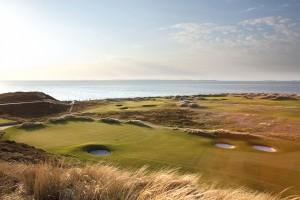 Ein perfekter Blick auf die Nordsee (Foto: Facebook.com/Golfclub Budersand Sylt)