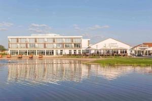 Das Hotel im Golfpark Gernsheim ist die perfekte Location für einen Golf-Absolute-Marathon. (Foto: Golf Absolute)