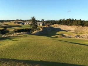 Typischer Ausblick auf einen der vier Linkskurse vom Golfresort Bandon Dunes. (Foto: Rainer Veith)