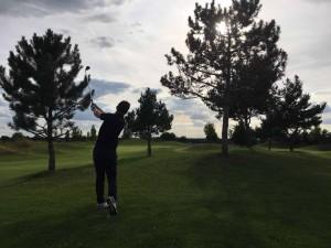 Immer 100 Prozent! Golf Post spielte an zwei Tagen vier der zehn Golf Absolute Anlagen. (Foto: Golf Post)