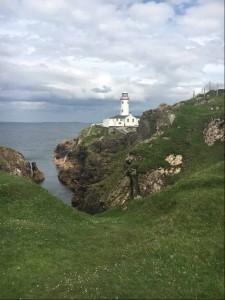 Der Leuchtturm von Portsalon war ohne Zweifel eines der absoluten Highlights auf der Golfreise durch Irland. (Foto: Rainer Veith)