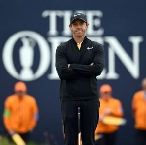 Irischer Golfstar Rory McIlroy wirbt mit Golfkleidung von und für Nike (Foto: Getty)