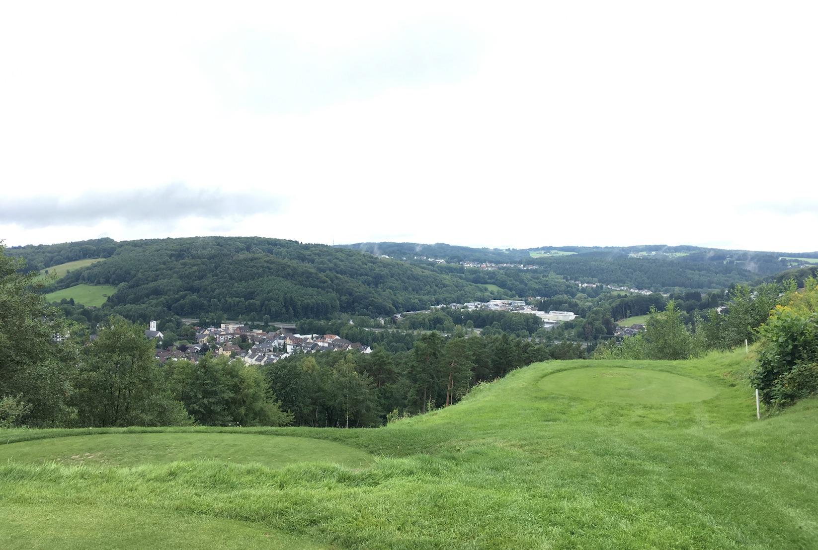 Der diesjährige rechtsrheinische Austragungsort Golfclub am Lüderich (Foto: Golf Post)