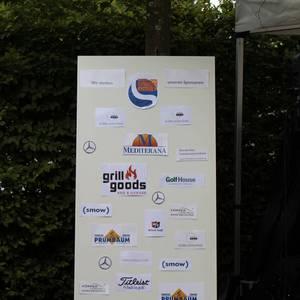 Die Sponsoren der Schäl Sick Golf Challenge 2017 (Foto: GC Lüderich)