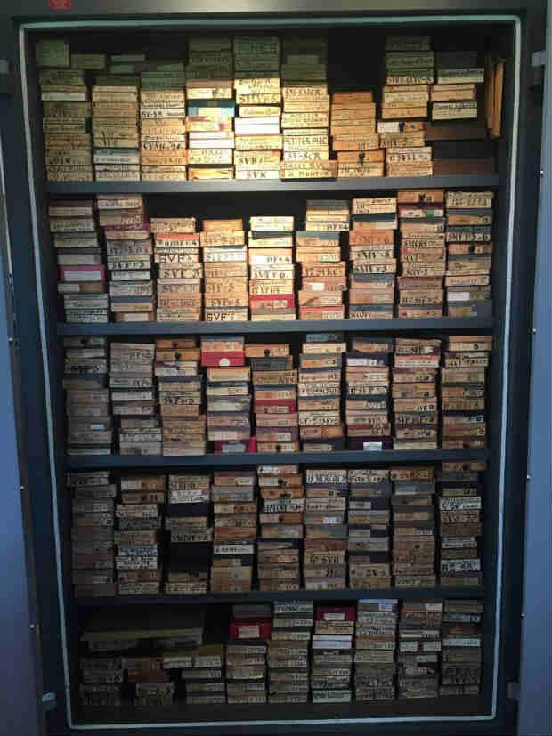 """Der """"Heilige Gral"""" von Audemars Piguet befindet sich hinter Stahltüren und hütet die seltensten Ersatzteile der Welt. (Foto: Golf Post)"""
