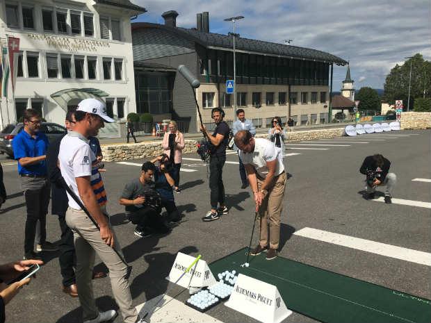 In der Audemars Piguet Zentrale in Le Brassus, Schweiz, traf Golf Post Danny Willett und erhielt Einblicke in die Uhrmacherei und die Geschichte des Unternehmens. (Foto: Golf Post)