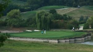 Sowohl als Vereinssymbol wie auch im Golfplatz selbst ist das Wappentier verewigt. (Foto: DGV)