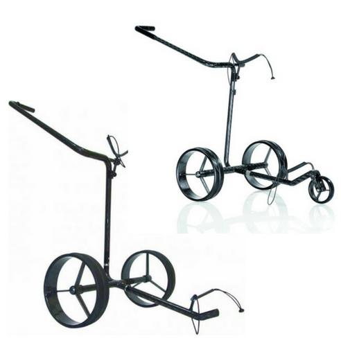 Golf-Trolleys von JuCad Carbon bieten einen ulitmativen Komfort in Sachen Fahrkomfort. (Foto: JuCad)