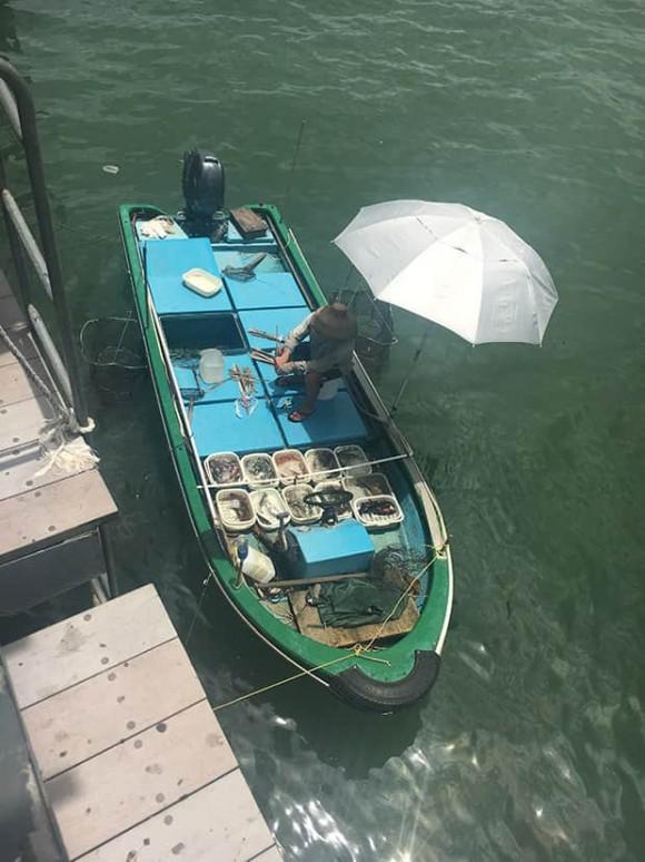 Golfreise Hongkong Fischhändler in Sai Kung