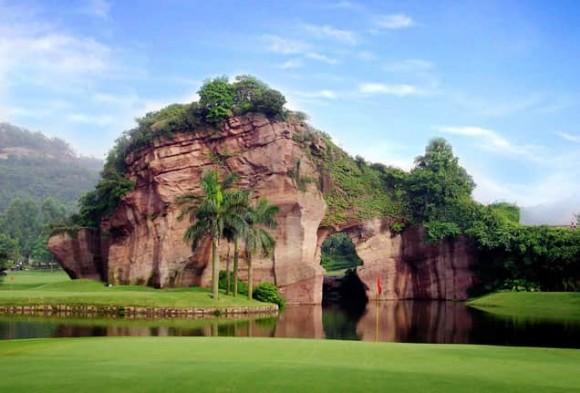 Golfreise Hongkong Lotus Hill Loch 17
