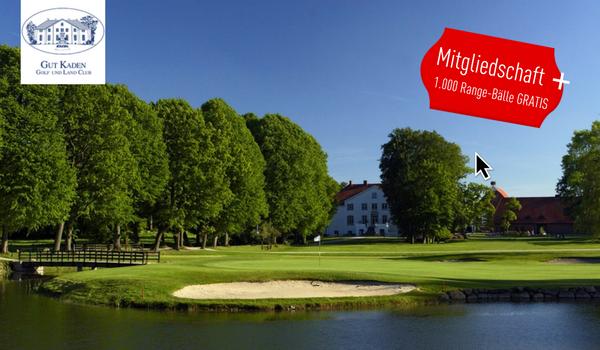 Als Golf Post Leser gibt es 1.000 Range Bälle gratis on top, bei Buchung einer Mitgliedschaft. (Foto: Gut Kaden)