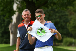 Die Freude ist groß bei Mark Nico Stevenson. (Foto: PGA Germany)