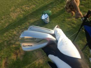 Die TaylorMade P790 Eisen haben sich einigen Test-Sessions auf der Range und auf dem Platz unterzogen. (Foto: Golf Post)