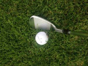 Das TaylorMade P790 Eisen vermittelt in der Ansprechposition einen sportlichen Look. (Foto: Golf Post)